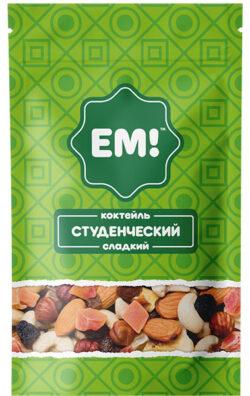 Коктейль Студенческий Сладкий «ЕМ» 150гр.