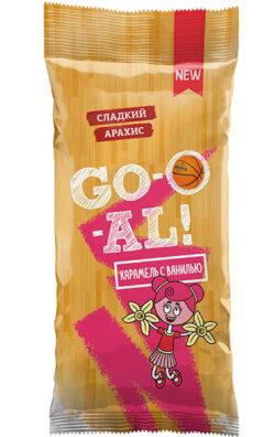 Арахис - карамель с ванилью «GO-O-AL»