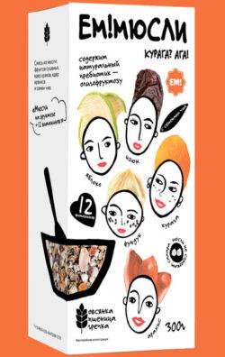 Мюсли 12 витаминов на фруктозе