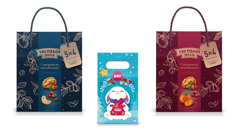 """gift sets """"Tverdy znak"""" and """"YEM"""""""
